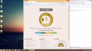 Dogecoin Mining Tutorial - Fast and Easy!