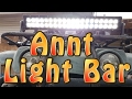 "Annt 24"" Led Light Bar Unboxing + Mounting + Testing"