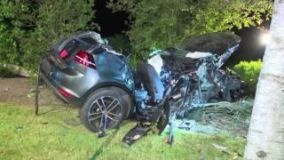 Horrorunfall im Auto der Eltern: 14-Jähriger rast mit zwei Freunden in Ahlhorn gegen Baum