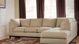 Fusion Khaki Right Chaise Sectional From Ashley