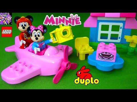 Lego Duplo Minnie Mouse Play Set Toys Airplane Birthday Party Mickey and the Roadster Racers Toys
