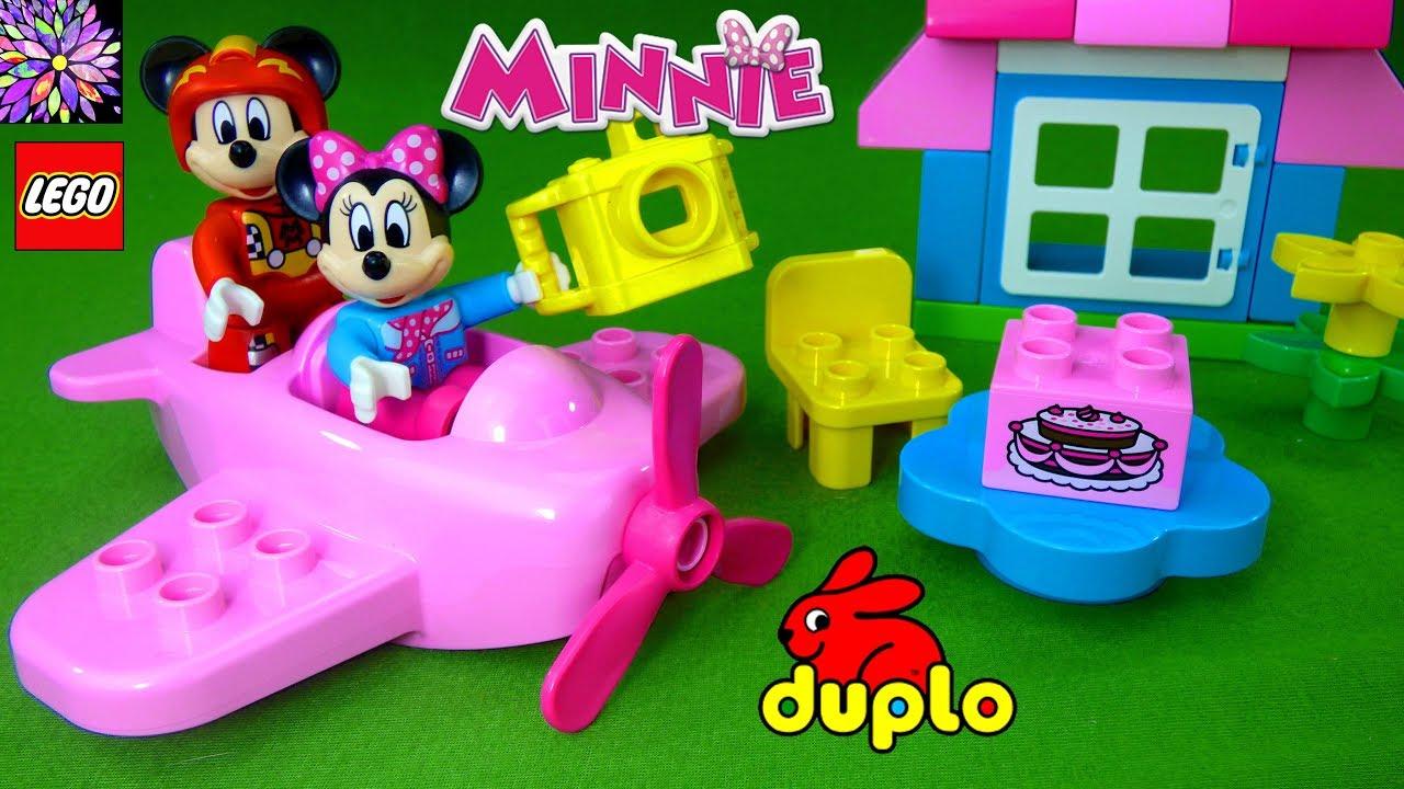 Lego Duplo Minnie Mouse Play Set Toys Airplane Birthday Party Mickey