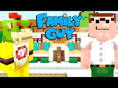 PETER GRIFFIN FROM FAMILY GUY IN MINECRAFT! | Nintendo Fun House | Minecraft [392]