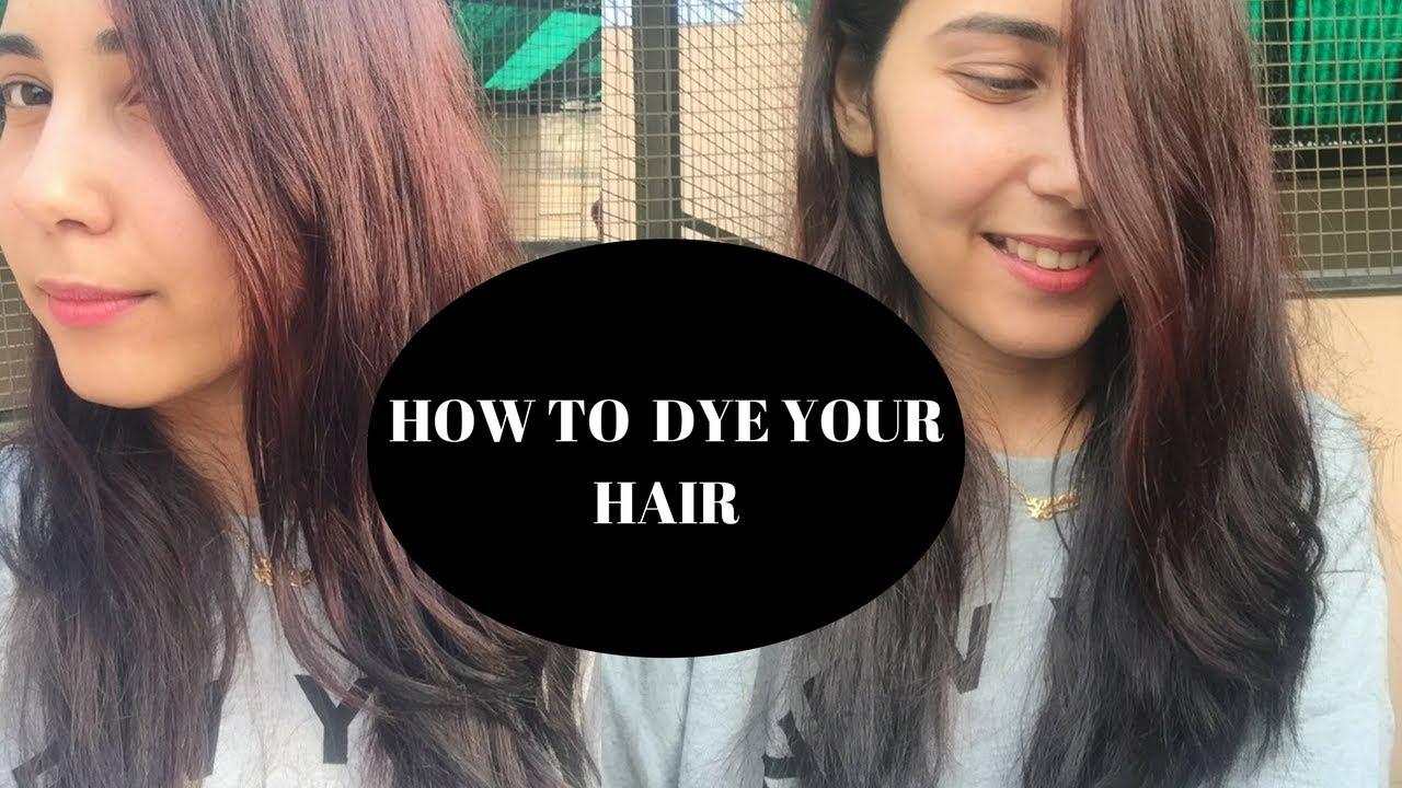 How To Highlight Your Own Hair At Home Sapna Ganglani Youtube