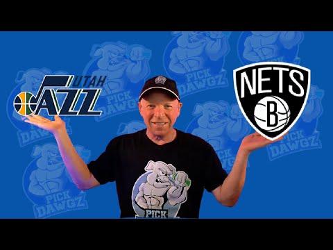Utah Jazz vs Brooklyn Nets 3/24/21 Free NBA Pick and Prediction NBA Betting
