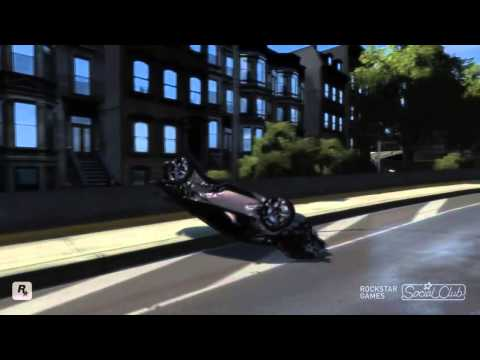GRAND THEFT AUTO IV 2011 LAMBORGHINI SESTO ELEMENTO CRASH TESTING HD
