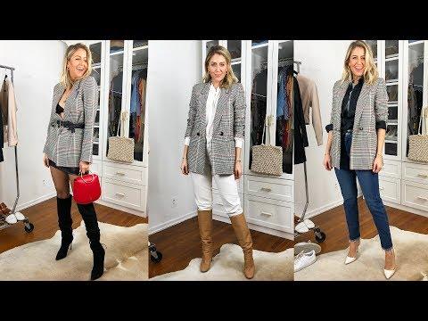 How To Style a Plaid Blazer 5 Ways