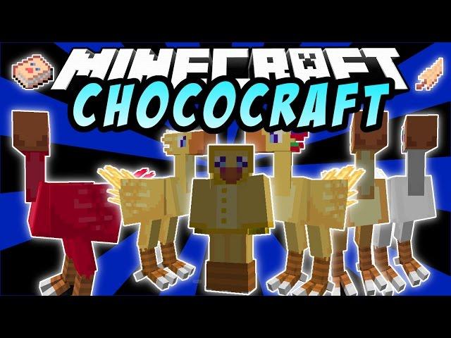 CHOCOBOS: ChocoCraft - Minecraft Mod 1.7.10
