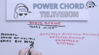 """David Byrne """"American Utopia"""" (Part 4 of 4) Whiteboard Sessions"""