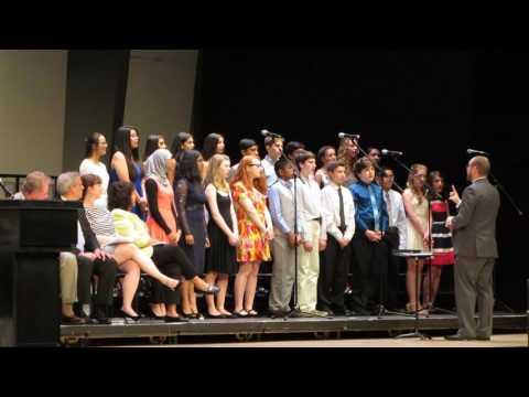 Herricks Middle School 2016 Graduation Chorus