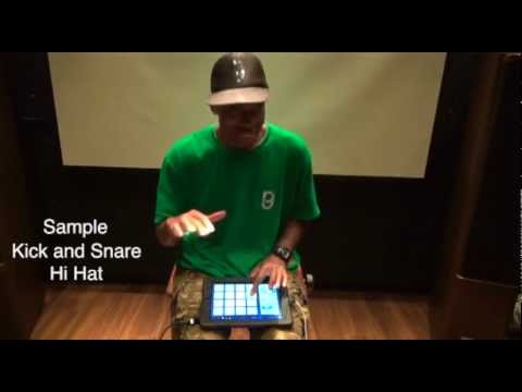App Attack- make a hip hop beat on your i-pad