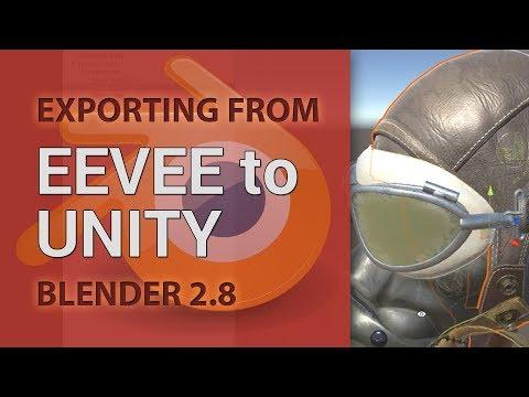 Export From EEVEE To Unity