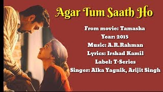 Afar Tummy Saath Ho - Lyrics and Indonesian translations