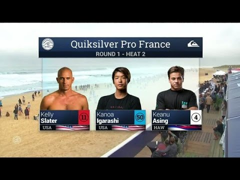 Quiksilver Pro France: Round One, Heat 2