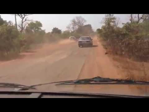 Estrada Senegal fronteira com Guiné Bissau