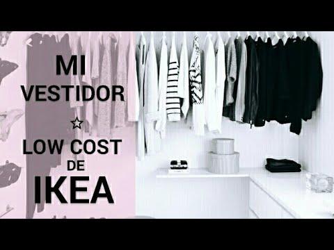 Mi vestidor low cost de ikea youtube for Arredamenti low cost
