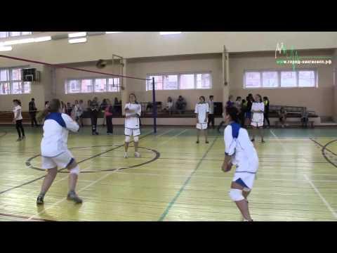 Сегодня в Кингисеппе Красотки играют в волейбол