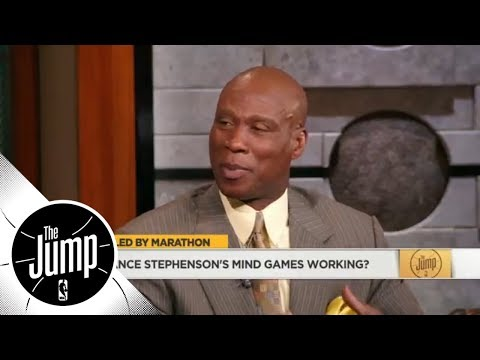 Byron Scott to Lance Stephenson on LeBron James: You don't mess with great players  The Jump  ESPN