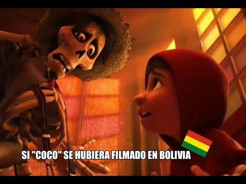 """¿Y SI """"COCO"""" SE HUBIERA FILMADO EN BOLIVIA? - ALEPINEDOTV - DOBLAJE BOLIVIANO"""