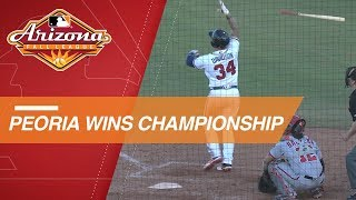 Braxton Davidson's walk-off homer wins Fall League Championship