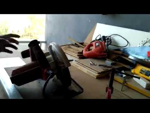 DIY woodworking India - how to operate a circular saw - part 1