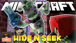 Repeat youtube video Minecraft FNAF Hide and Seek! FREDDY CAUGHT ME! (FNAF Sister Location Minigame)