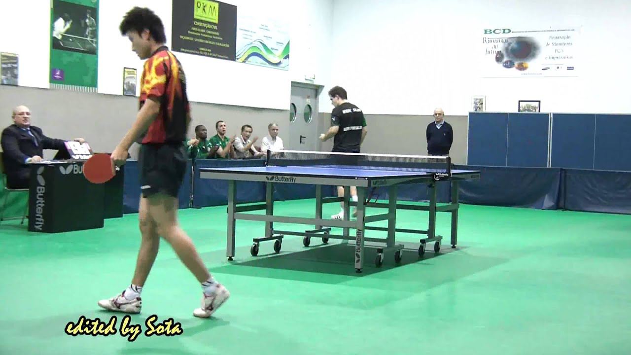 Tenis de Mesa :: Sporting - 4 x Juncal - 0 de 2010/2011