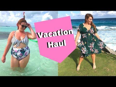 HUGE Plus Size Haul   Vacation & Splurge Items!
