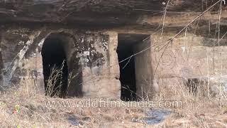 Driving towards Bandhavgarh caves