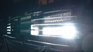 Бешеная оптика, блокировка и силовой бампер на Фронтеру.