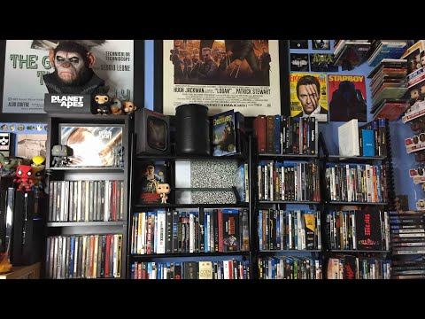 My Updated Blu-ray Collection (October 2017)