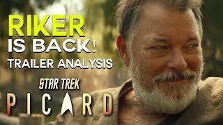 PICARD NEW Trailer, Romulans, RIKER and  - Star Trek Trailer Analysis &Breakdown