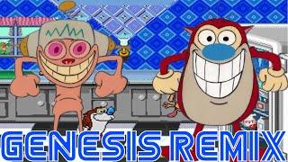 The Ren & Stimpy Show   Happy Happy Joy Joy - Stinky Wizzleteats (Sega Genesis Remix)