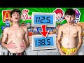 - Who Can GAIN the MOST WEIGHT in 24 HOURS - 100,000 Calories Challenge