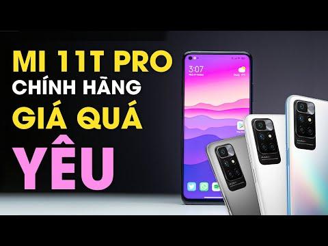 Xiaomi Mi 11T Pro chính hãng: Snapdragon 888 rẻ nhất Việt Nam
