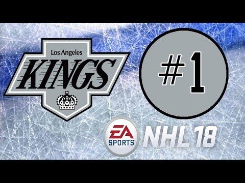 NHL 18 ~ Los Angeles Kings Franchise Mode ~ #1 (Franchise Outlook)