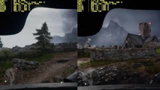 Battlefield 1 i5 4690K stock vs OC 4.7 GHz + GTX 1070 FE 16GB RAM Frame Rate Comparison