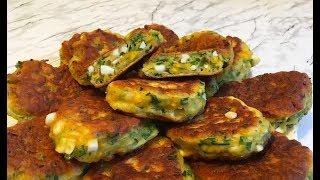 Ленивые Пирожки с Яйцом и Зеленью / Жареные Пирожки / Fried Pies / Очень Быстрый Рецепт