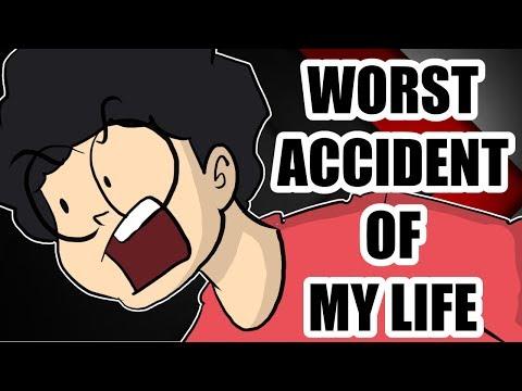 WORST ACCIDENT OF MY LIFE   A Cartoon Vlog By Antik Mahmud   2018