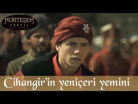Şehzade Cihangir'in Yeniçeri Yemini - Muhteşem Yüzyıl 104.Bölüm