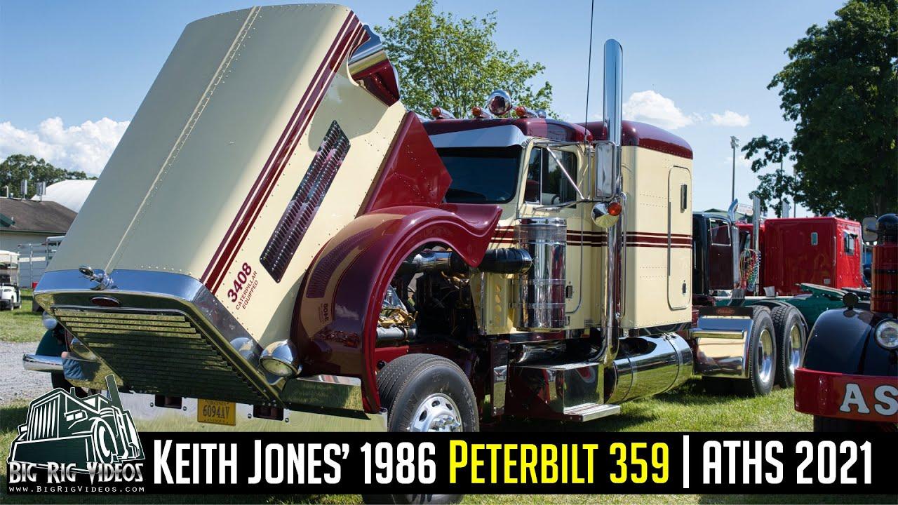 Keith Jones' 1986 Peterbilt 359 | ATHS 2021