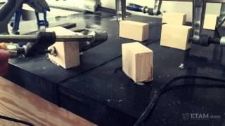 Склеивание и шлифовка столешниц ETAMstone - изготовление столешниц из искусственного камня (акрил) -(Склеивание + шлифовка столешницы из искусственного акрилового камня http://etamstone.com., 2015-08-21T17:07:38.000Z)