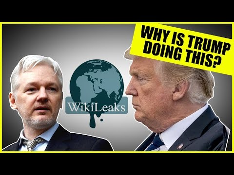 What Is Trump Doing to Julian Assange