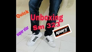 sparx shoes Sm 323 quick unboxing  white best quality first impression quick trial  relaxo unisex