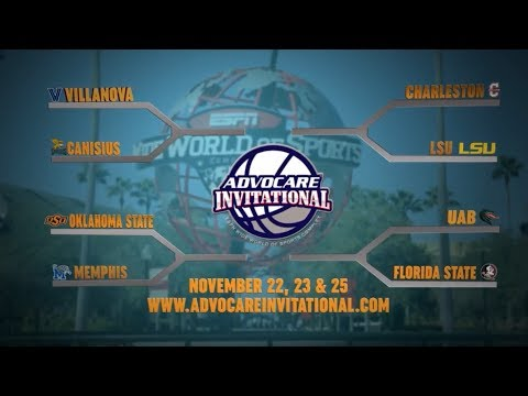 2018 AdvoCare Invitational Bracket Reveal