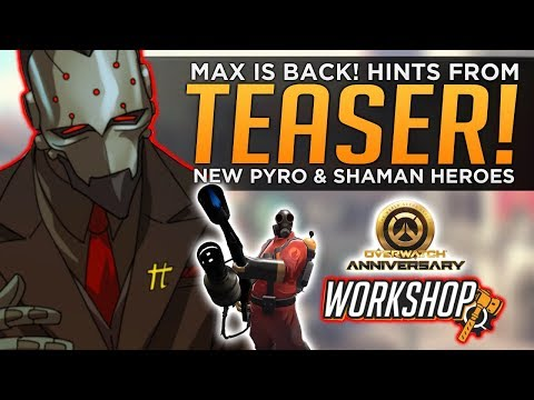 Overwatch: Maximilien Anniversary Event HINTS! - NEW Heroes & Gamemodes!