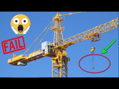 TOWER CRANE COLLAPSE - BEST FAILS COMPILATION 2018 !!!