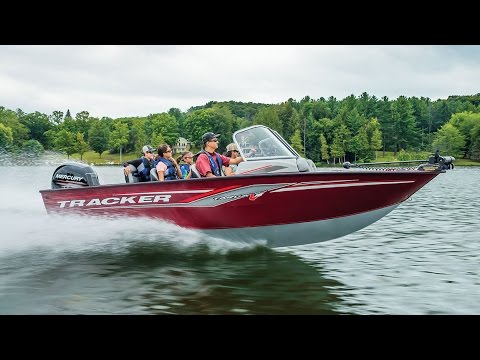 TRACKER Boats: 2017 Deep V Aluminum Fishing Boats - YouTube
