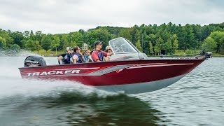 TRACKER Boats: 2017 Deep V Aluminum Fishing Boats