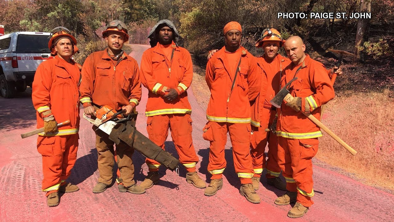 $1 An Hour to Fight Largest Fire in CA History: Are Prison Firefighting  Programs Slave Labor?